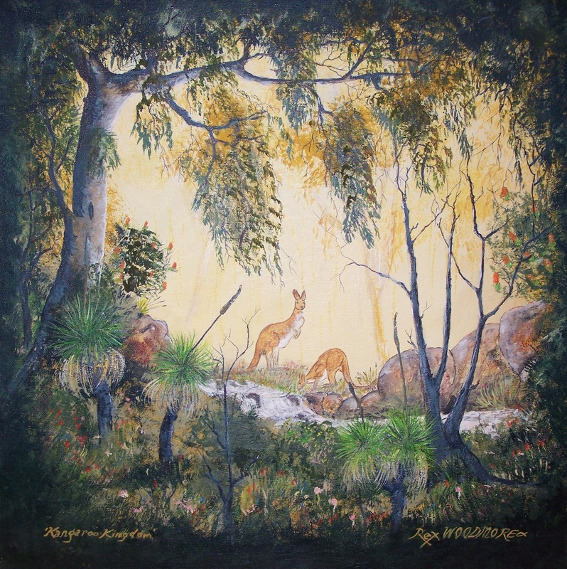 Kangaroo Kingdom  by Rex Woodmore http://art-sale.weebly.com